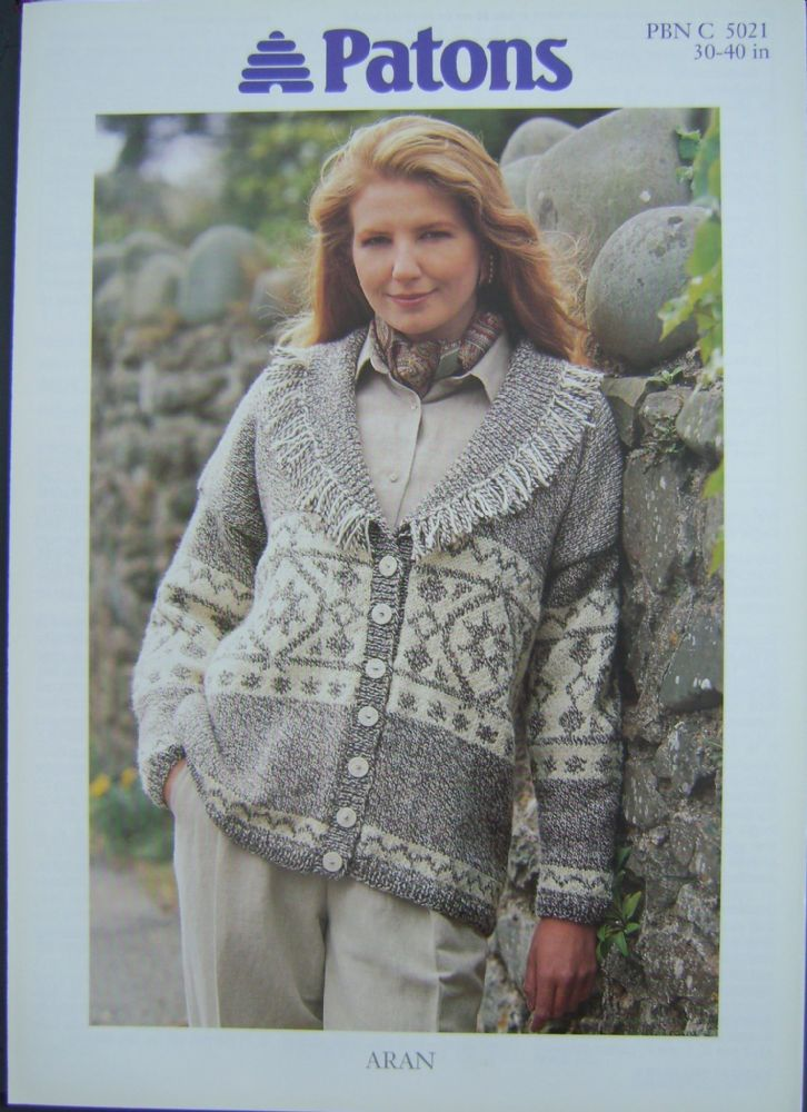 Patons Knitting Pattern 5021